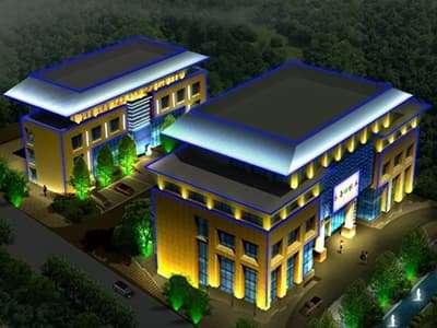 办公大楼亮化案例