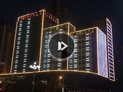 山东临沂红璞酒店亮化工程