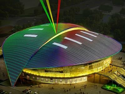 体育馆照明亮化工程